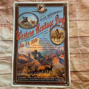 Western Heritage Days Poster 2006